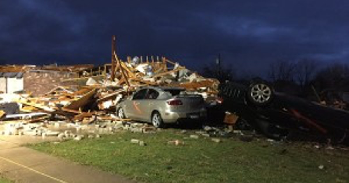 Total devastation': Nine tornadoes confirmed