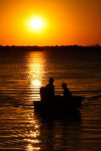 "Voters' Choice selection: From Fay Stout, ""The end of another hot summer day on Lake Ray Hubbard.""(Fay Stout)"