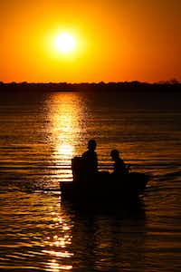 "Voters' Choice selection: From Fay Stout, ""The end of another hot summer day on Lake Ray Hubbard.""Fay Stout"