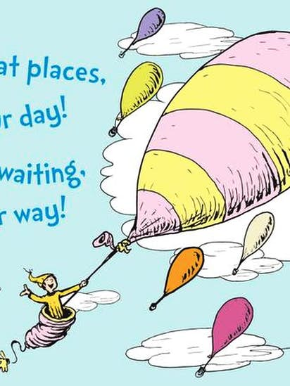ruth graham why dr seuss oh the places you ll go offers