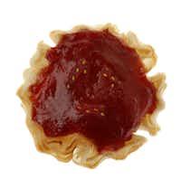 Strawberry Rhubarb and Cream Cheese tart