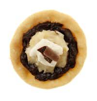Chocolate-Coconut tart.