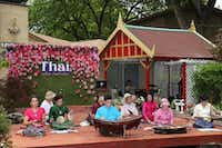The Thai community held its first Thai Culture and Food Festival at the Buddhist Center of Dallas.( Jarvis Jacobs  -  Special Contributor )