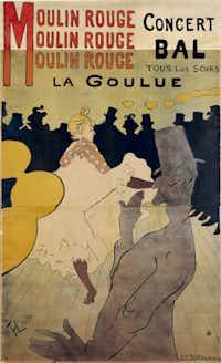 Moulin Rouge -- La Goulue, 1891
