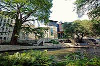 The Briscoe Western Art Museum is located along the San Antonio River Walk, opposite La Villita and the historic Presa Street Bridge.