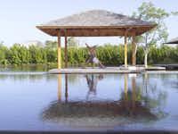 SV Yoga Sala at the Amanyara Resorts in the Turks and Caicos Islands.