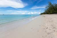 Leeward (Emerald) Beach in the Turks and Caicos Islands.