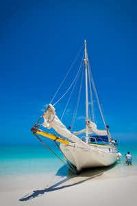 Turks and Caicos Islands. The islands welcome more than 200,000 tourist annually