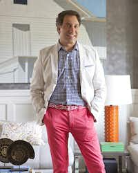 Celebrity interior designer, Thom Filicia at the Grace Bay Resorts.  Filicia will bring his sophisticated aesthetic and celebrated style to the brandÕs resort properties, including the renowned Grace Bay Club as well as The Residences, the companyÕs first private residential micro-resort of ultra-luxury, single family beachfront homes.