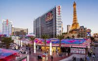 The newly  opened Grand Bazaar Shops provide an open-air shopping experience just steps from the Las Vegas Strip.Erik Kabik