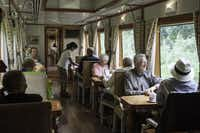 Tren Crucero is a luxury tourist train that takes passengers on a four-day journey from the Andes to the Pacific.( Eric Mohl  -  Horizon Writers' Group )