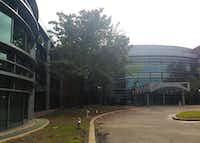 Verizon's current campus on HIdden Ridge Drive was built in the 1990s. (Steve Brown)
