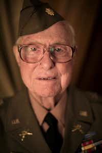 World War II veteran Earl Tweed attended a reunion put on by the Daughters of World War II on Thursday at the Crescent Club in Dallas. Not only did Tweed receive the French Legion of Honor at the event, but he also celebrated his 70th wedding anniversary.
