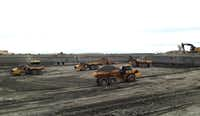 Excavations are underway for the first phase of the $1.6 billion project. (Steve Brown)