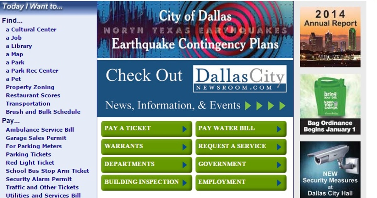 dallas city website
