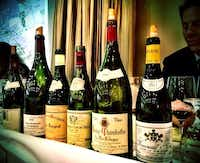 Just a small sample of the many wines featured at TexSom, a three-day wine conference hosted by the Four Seasons in Irving.TexSom Facebook