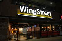 The exterior of the new stand-alone Wingstreet location in Denton.