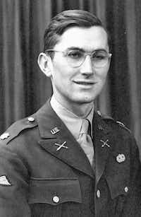"""William Colby as a newly minted paratrooper. From """"Shadow Warrior: William Egan Colby and the CIA,"""" by Randall B. Woods"""