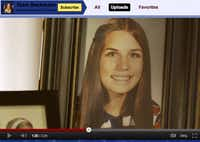 Her YouTube channel features a shot of a youthful Michele Bachmann in a video for Team Bachmann 2012.